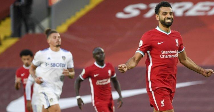 Salah hat-trick yaptı Liverpool Leeds United'ı yendi