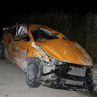 Sosyal medyada canlı yayın yaparken kaza yaptı