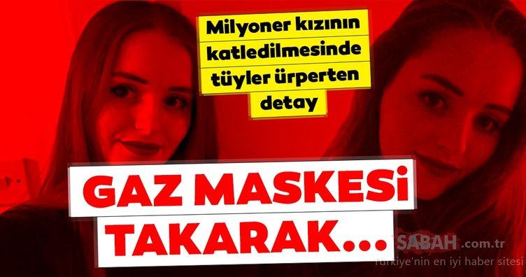 Son Dakika: Korkunç cinayette yeni gelişmeler yaşanıyor! Gaz maskesi takarak...