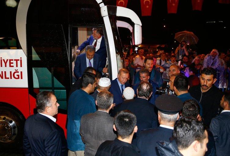 Türkiye Cumhurbaşkanı Erdoğan, Rize'de