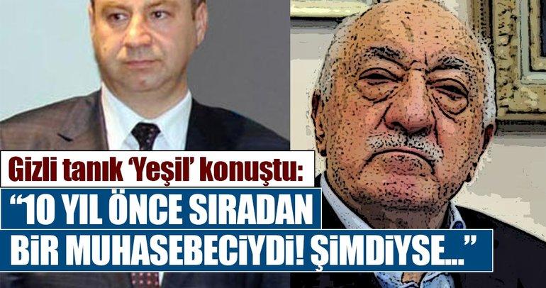 Gaziantep'teki FETÖ/PDY soruşturmasında 'Yeşil' kod adlı gizli tanık dinlendi!