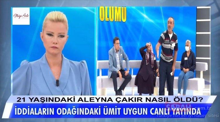 Bu hafta tüm Türkiye Aleyna Çakır ölümünü araştıran Müge Anlı ile Tatlı Sert programına kilitlendi!