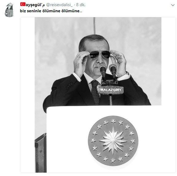 Twitter'da Cumhurbaşkanı Erdoğan'a dev destek