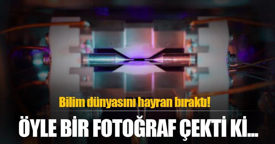 Atomun fotoğrafını çekti, tarihe geçti!