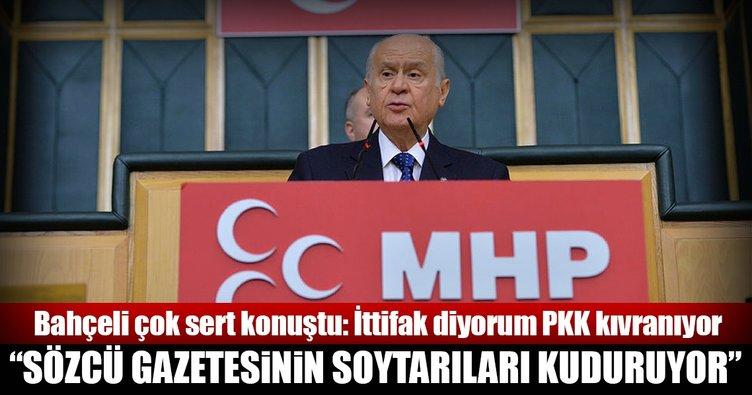 Devlet Bahçeli'den Sözcü Gazetesine sert tepki!