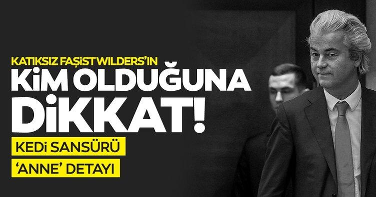SON DAKİKA... İslam'a saldıran katıksız faşist Wilders'in kim olduğuna bakın!