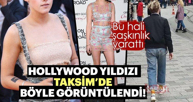 Ünlü Hollywood yıldızı İstanbul'da böyle görüntülendi!
