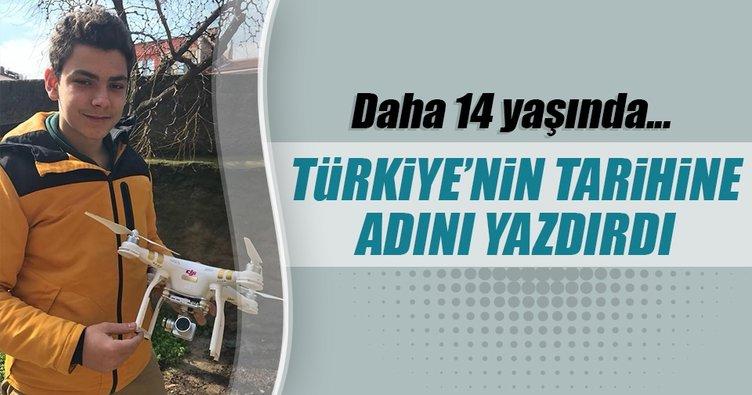 Türkiye'nin en genç İHA pilotu İznik'ten çıktı