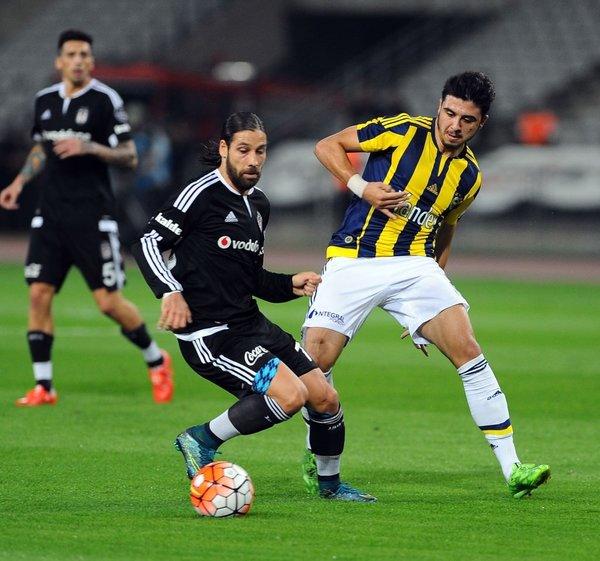 Beşiktaş-Fenerbahçe derbisinden kareler