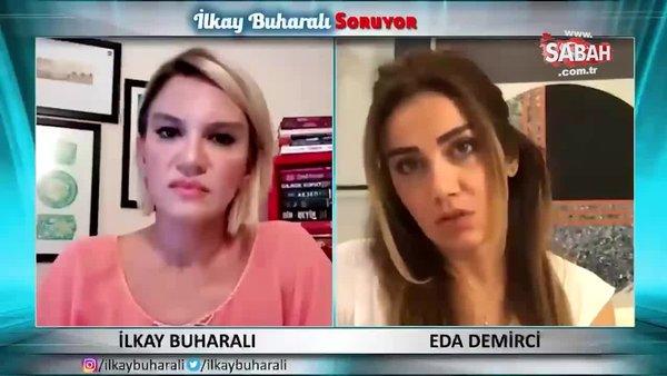 İsmail Küçükkaya'nın şiddet uyguladığı eşi Eda Demirci: Haber yapılmasını engelledi | Video