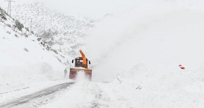 Van, Bitlis, Muş ile Hakkari için kuvvetli buzlanma ve çığ uyarısı