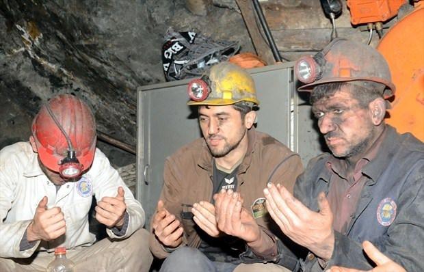 Maden ocağında sahur
