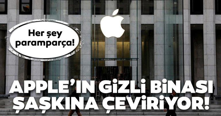 Apple'ın gizli binası şaşkına çeviriyor! Her şey paramparça