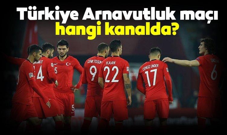 Türkiye Arnavutluk maçı hangi kanalda yayınlanacak? Türkiye Arnavutluk Milli maç ne zaman saat kaçta? İşte muhtemel 11'ler