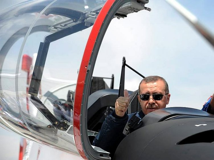 Türk uçağı testi geçti!