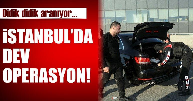 Son dakika: İstanbul'da yılbaşı öncesi dev operasyon!