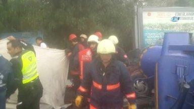 Maslak'ta feci kaza: 1 ölü 5 yaralı
