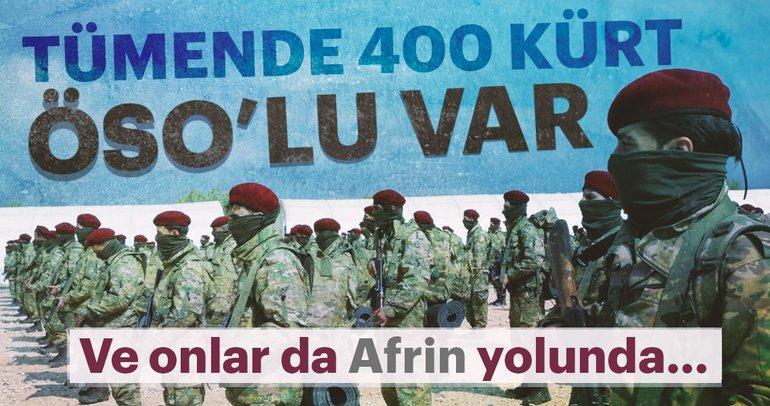 Son dakika: Kürt Şahinleri Afrin yolunda