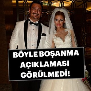 Bircan İpek ve Şenol İpek tek celsede boşandı!
