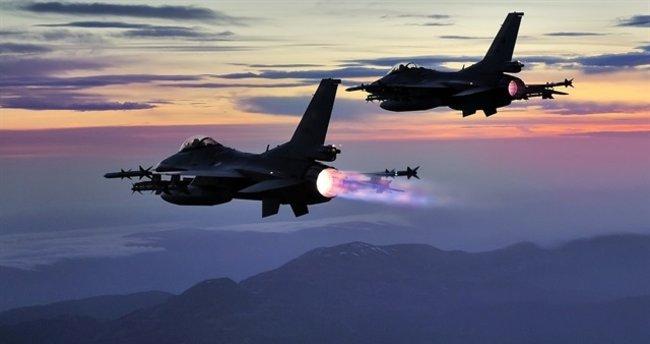 Çukurca'da PKK'ya hava harekatı: 3 terörist etkisiz