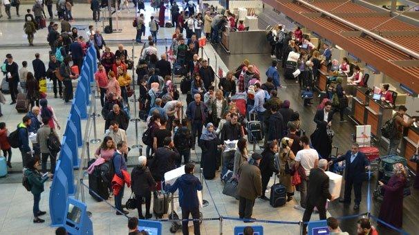 Sabiha Gökçen'de 23 Nisan yoğunluğu:450 bin yolcu bekleniyor