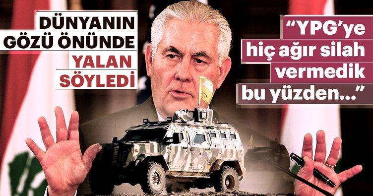 Son Dakika Haberi: ABD'den bir tuhaf açıklama daha! YPG'ye hiç ağır silah vermedik