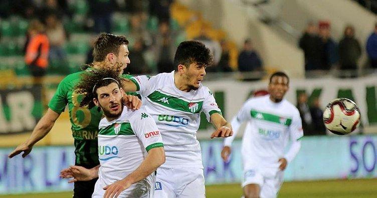 Seleznov attı, atıldı Bursaspor 3 puanı aldı