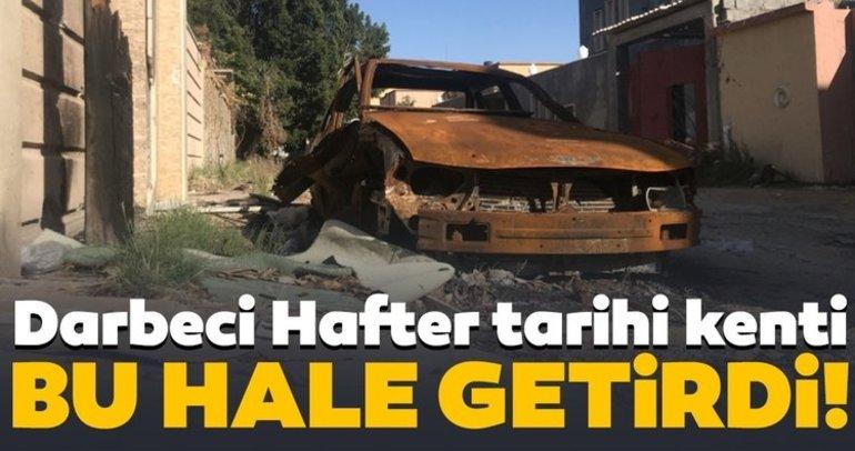 Hafter saldırıları Trablusu hayalet şehire çevirdi!