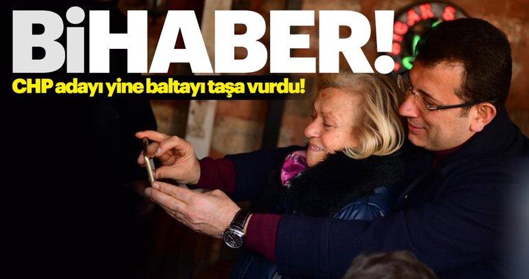 CHP adayı Ekrem İmamoğlu yine baltayı taşa vurdu!