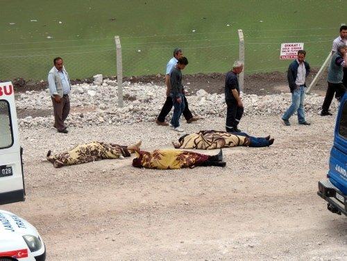 Kayseri'de feci kaza