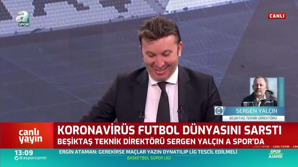 Sergen Yalçın'dan güldüren cevap: Futbolcularla ilgili bir bilgim yok