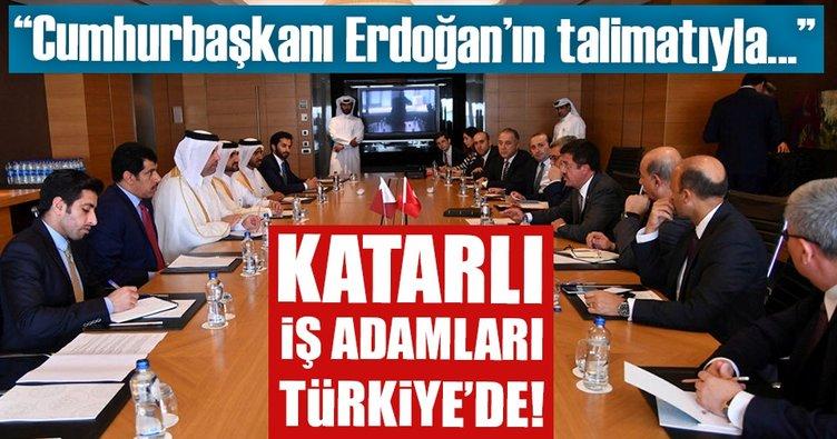 Katarlı iş adamları İzmir'de