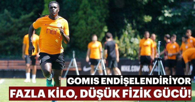 Galatasaray'da Bafetimbi Gomis endişesi