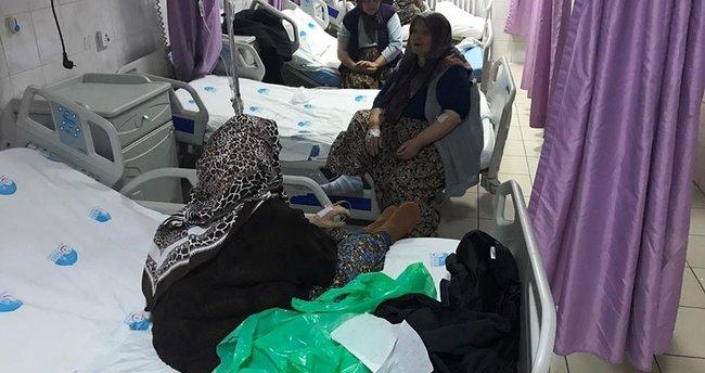 Mevlitte pilav yiyen 55 kişi hastanelik oldu