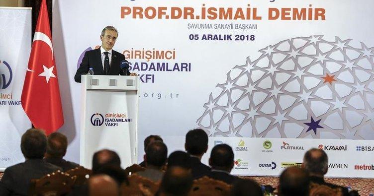 Savunma Sanayii Başkanı İsmail Demir girişimcilerle buluştu
