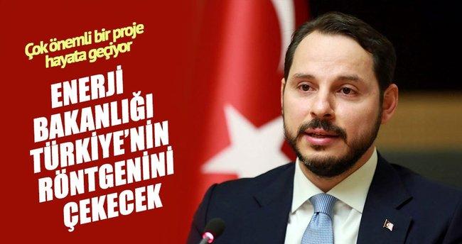 Enerji Bakanlığı Türkiye'nin röntgenini çekecek
