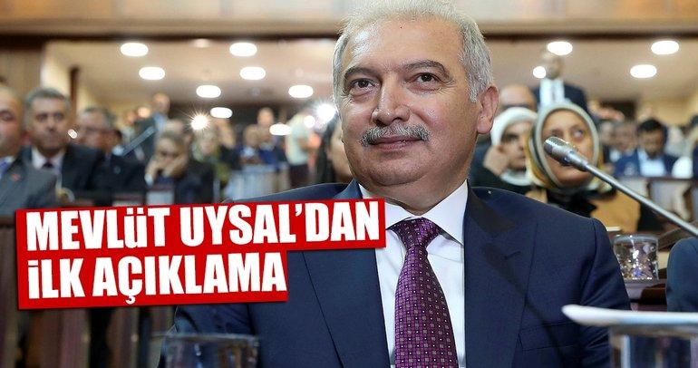 AK Parti'nin İBB Başkan Adayı Mevlüt Uysal'dan ilk açıklama