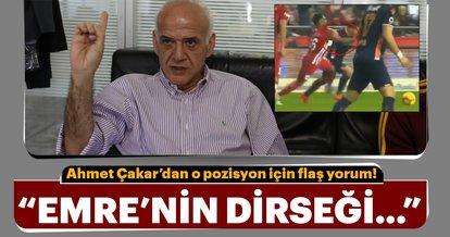 Ahmet Çakar: Emre Belözoğlu'nun dirseği...