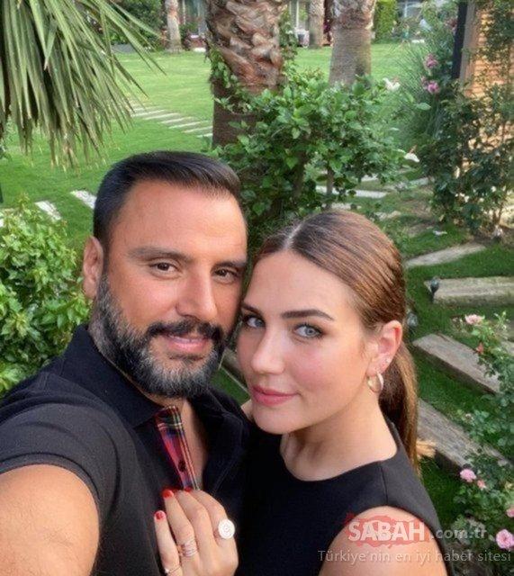 Şarkıcı Alişan eşi Buse Varol'un karnına elini koydu  Gel kızım bekliyoruz... Karnı burnunda Buse Varol ile eşi Alişan'dan romantik poz!