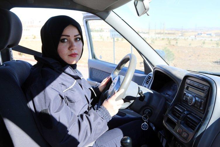 Afgan kadınına Sivas'ta polislik eğitimi