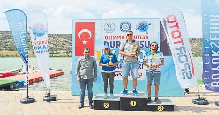 Kano sporcuları Eskişehir'de 14 madalya ve 3 kupa aldı