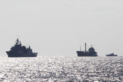 700 kaçak bulunan gemiye operasyon