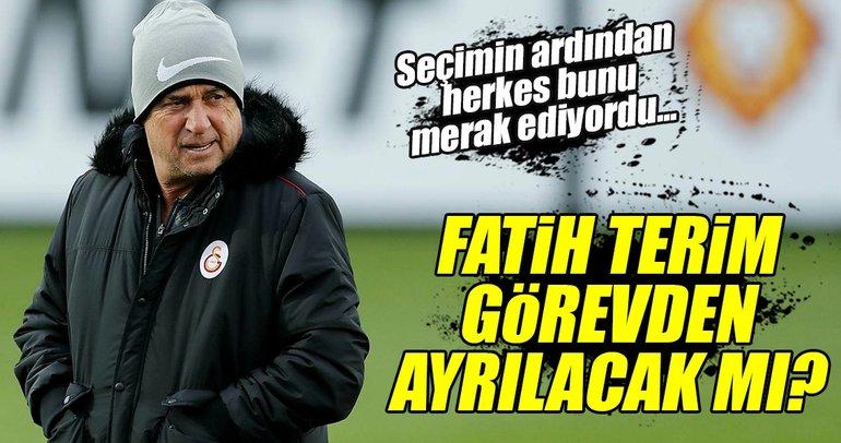 Galatasarayda Mustafa Cengiz, Fatih Terimle devam edecek mi?