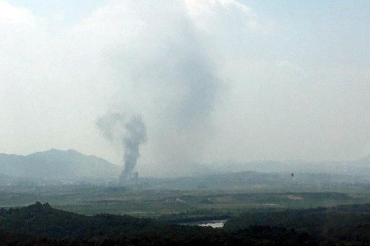 Ajanslar son dakika duyurdu! Kuzey Kore orayı havaya uçurdu! Kim Jong Un'un kardeşi  Kim Yo-jongdan şoke eden açıklamaları...
