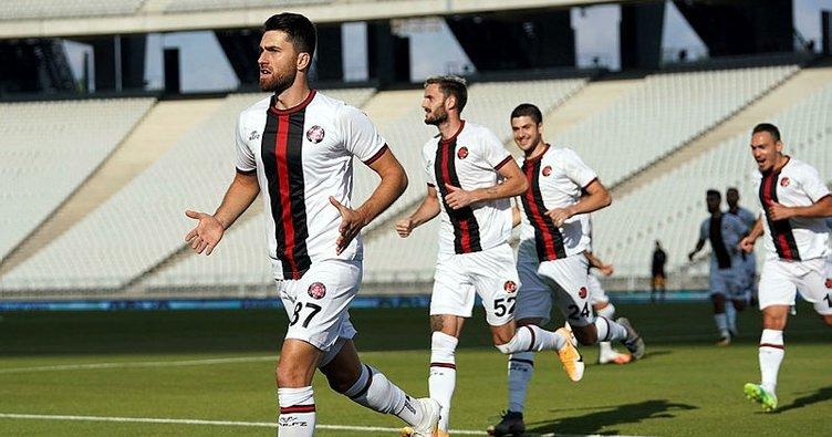 Fatih Karagümrük Süper Lig'e galibiyetle döndü! Fatih Karagümrük 3-0 Yeni Malatyaspor MAÇ SONUCU