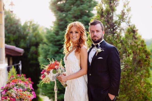 İşte Emre Aydın ve Eda Köksal'ın düğününden kareler