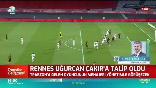 Trabzonsporlu genç yıldız Uğurcan Çakır'a Fransız ekibi Rennes talip!