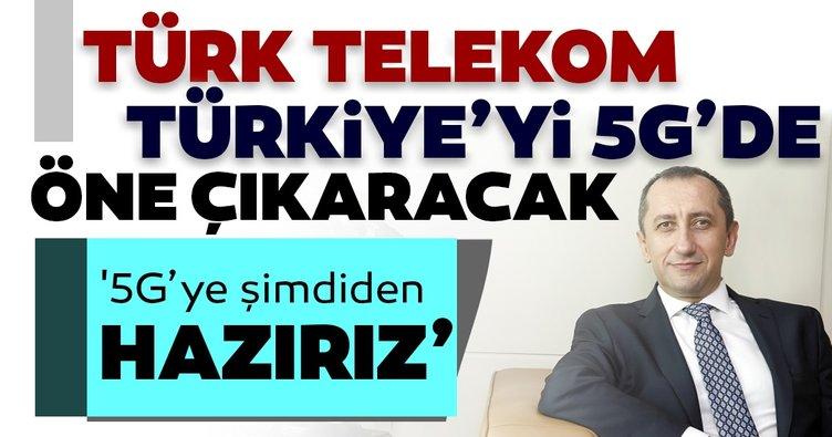 Türk Telekom Türkiye'yi 5G'de öne çıkaracak