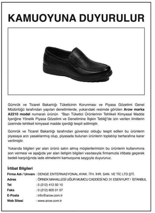 İşte zehirli ayakkabı modelleri!