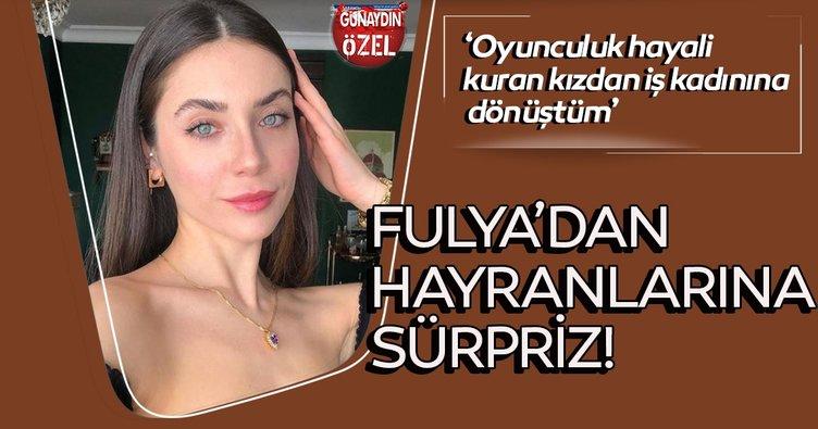 Fulya Zenginer'den hayranlarına sürpriz!